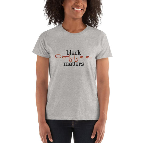 Black Coffee Matters - LifeSpirit | Sidi Life Products - T- Shirts - #collection_type#