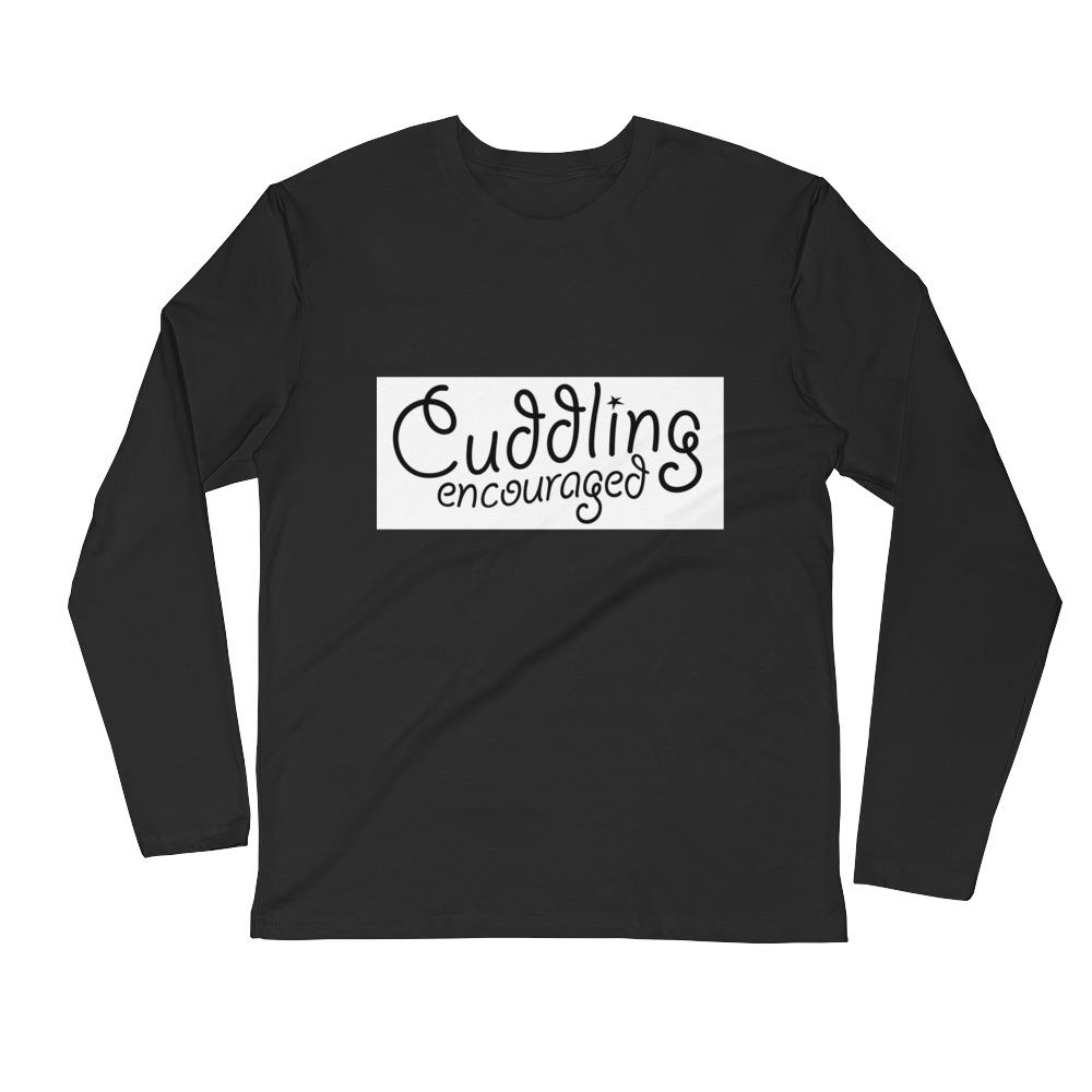 Cuddling Encouraged - LifeSpirit | Sidi Life Products - T- Shirts - #collection_type#