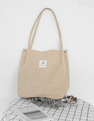 Image of Eco-Friendly Corduroy Totes - LifeSpirit | Sidi Life Products - Accessories - #collection_type#