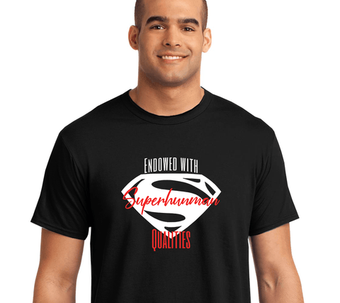 Image of Endowed with Superhuman Qualities - LifeSpirit | Sidi Life Products - T- Shirts - #collection_type#