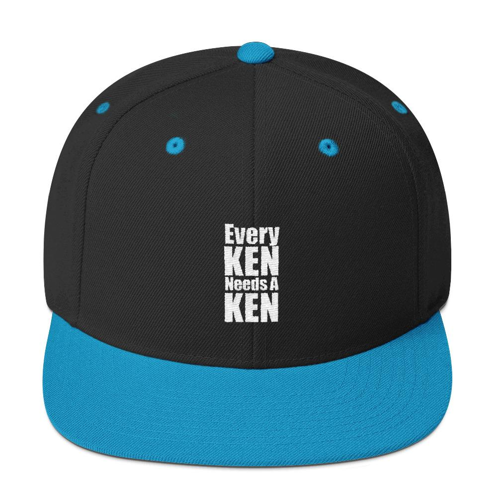 Every Ken Needs A Ken Snapback - LifeSpirit | Sidi Life Products - Hats & Caps - #collection_type#