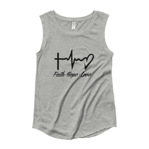Faith, Hope, Love - LifeSpirit | Sidi Life Products - T- Shirts - #collection_type#