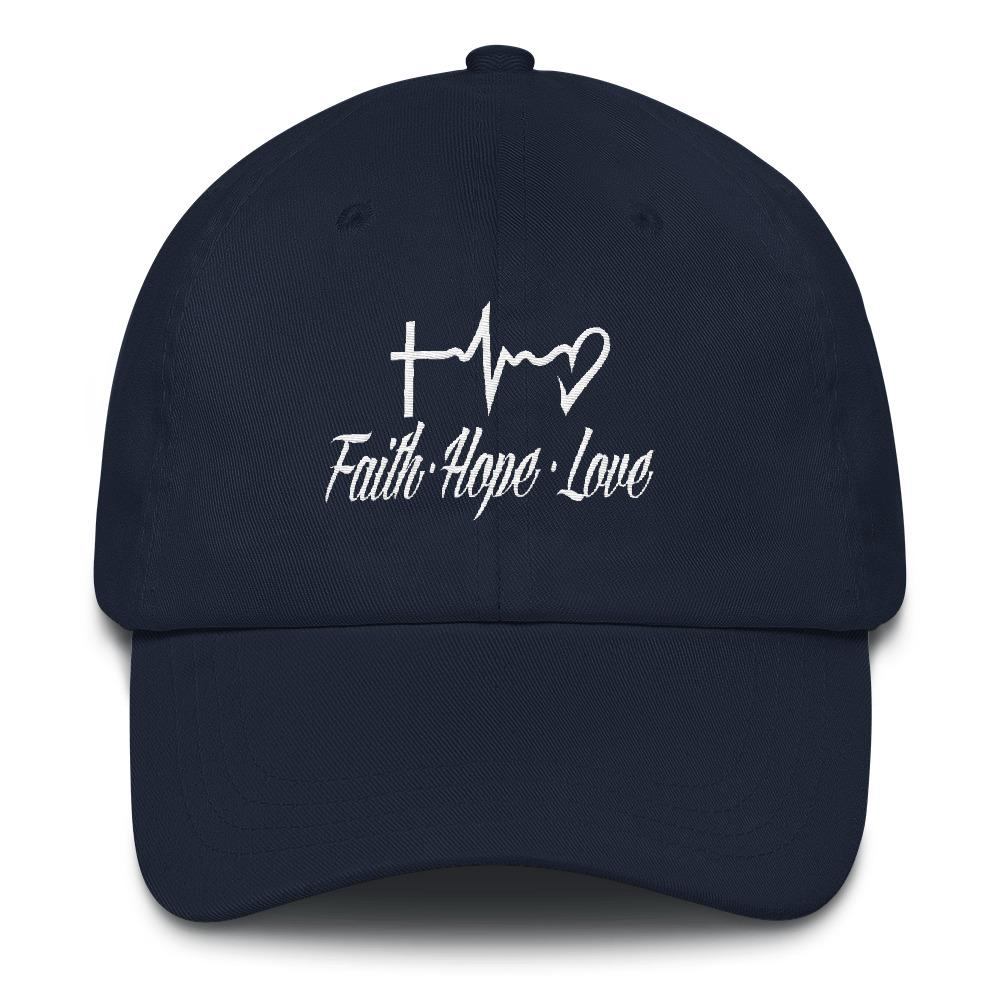Faith, Hope, Love - LifeSpirit | Sidi Life Products - Hats & Caps - #collection_type#