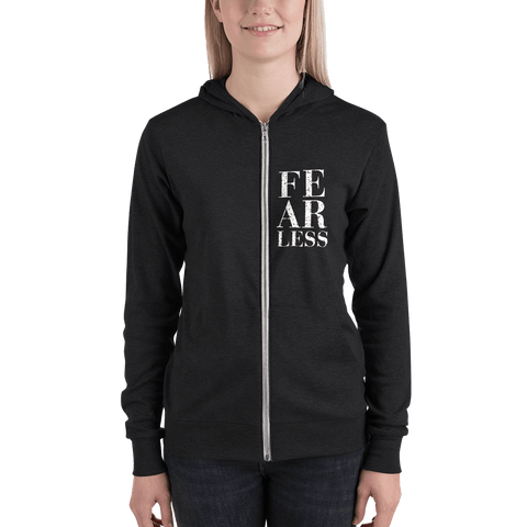 Fearless, Lightweight Unisex Hoodie - LifeSpirit | Sidi Life Products - Hoodies - #collection_type#