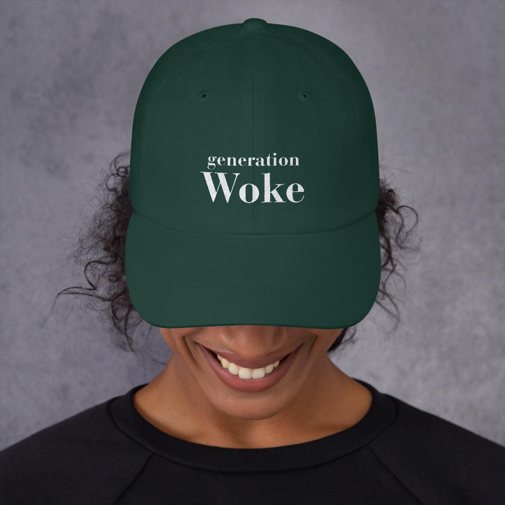 Generation Woke Classic Dad - LifeSpirit | Sidi Life Products - Hats & Caps - #collection_type#