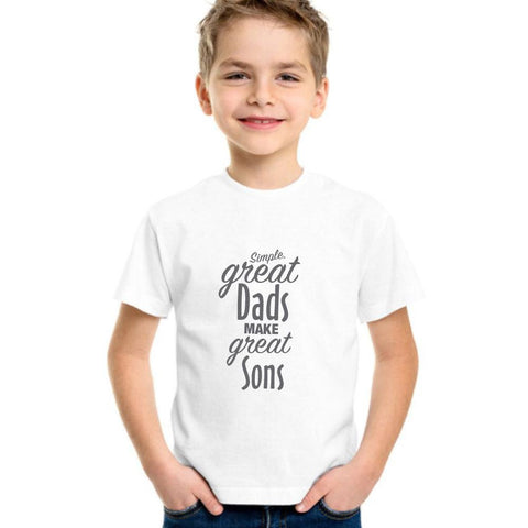 Great Dads Make Great Sons - LifeSpirit | Sidi Life Products - T- Shirts - #collection_type#