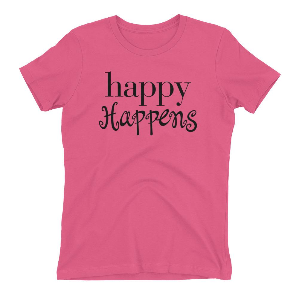 Happy Happens - LifeSpirit | Sidi Life Products - T- Shirts - #collection_type#