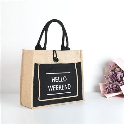 Hello Weekend Totes