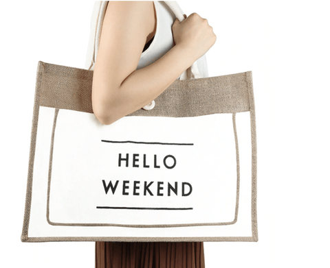 Image of Hello Weekend Totes - LifeSpirit | Sidi Life Products - Accessories - #collection_type#