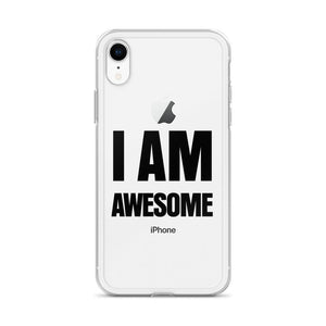 I Am Awesome iPhone X cases - LifeSpirit | Sidi Life Products - Accessories - #collection_type#