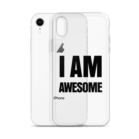 I Am Awesome iPhone X cases