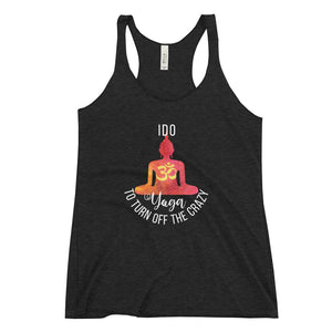 I Do Yoga to Turn Off the Crazy - LifeSpirit | Sidi Life Products - T- Shirts - #collection_type#