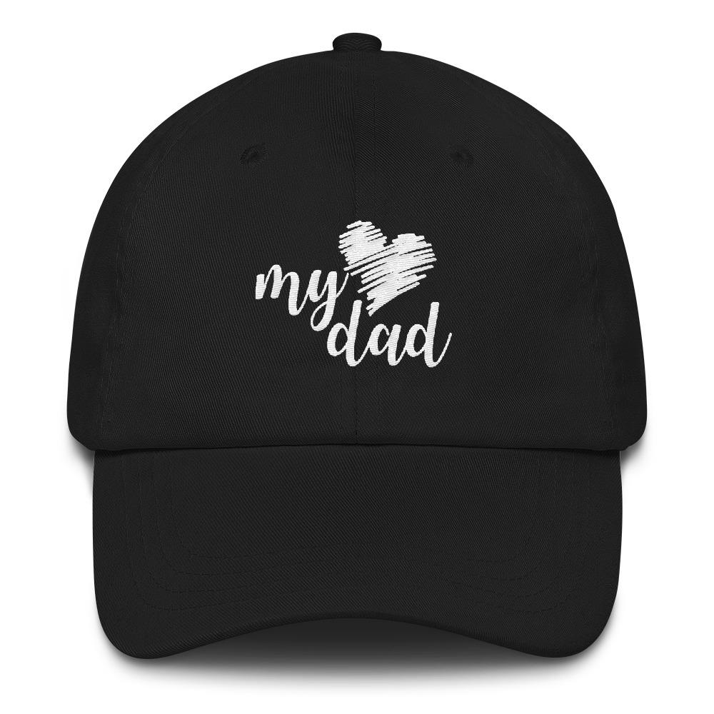 I (heart) My Dad Cap - LifeSpirit | Sidi Life Products - Hats & Caps - #collection_type#