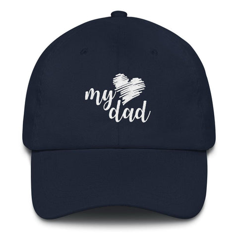 I (heart) My Dad Cap
