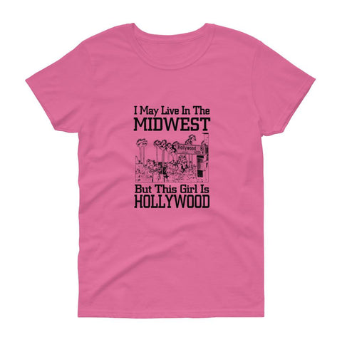 Image of I May Live in the Midwest - LifeSpirit | Sidi Life Products - T- Shirts - #collection_type#