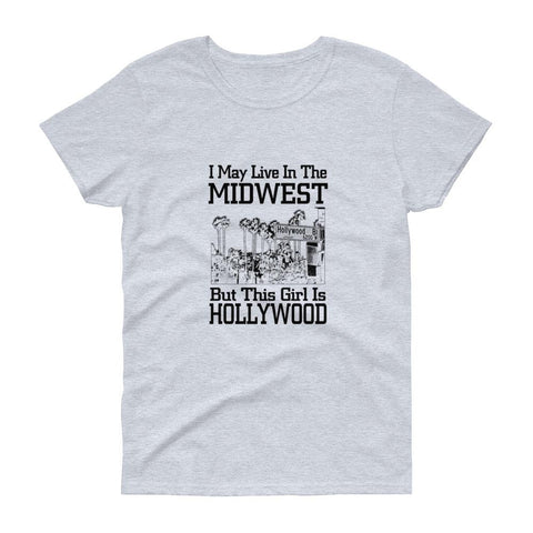 I May Live in the Midwest  Tee