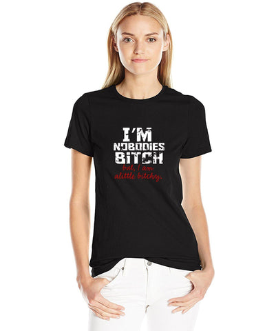 Image of I'm Nobodies Bitch - LifeSpirit | Sidi Life Products - T- Shirts - #collection_type#