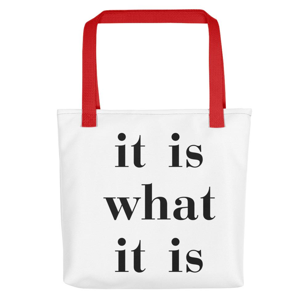 It Is What It Is Tote - LifeSpirit | Sidi Life Products - Accessories - #collection_type#