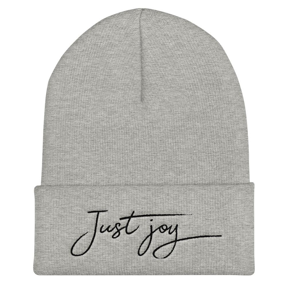 Just Joy Beanie - LifeSpirit | Sidi Life Products - Hats & Caps - #collection_type#