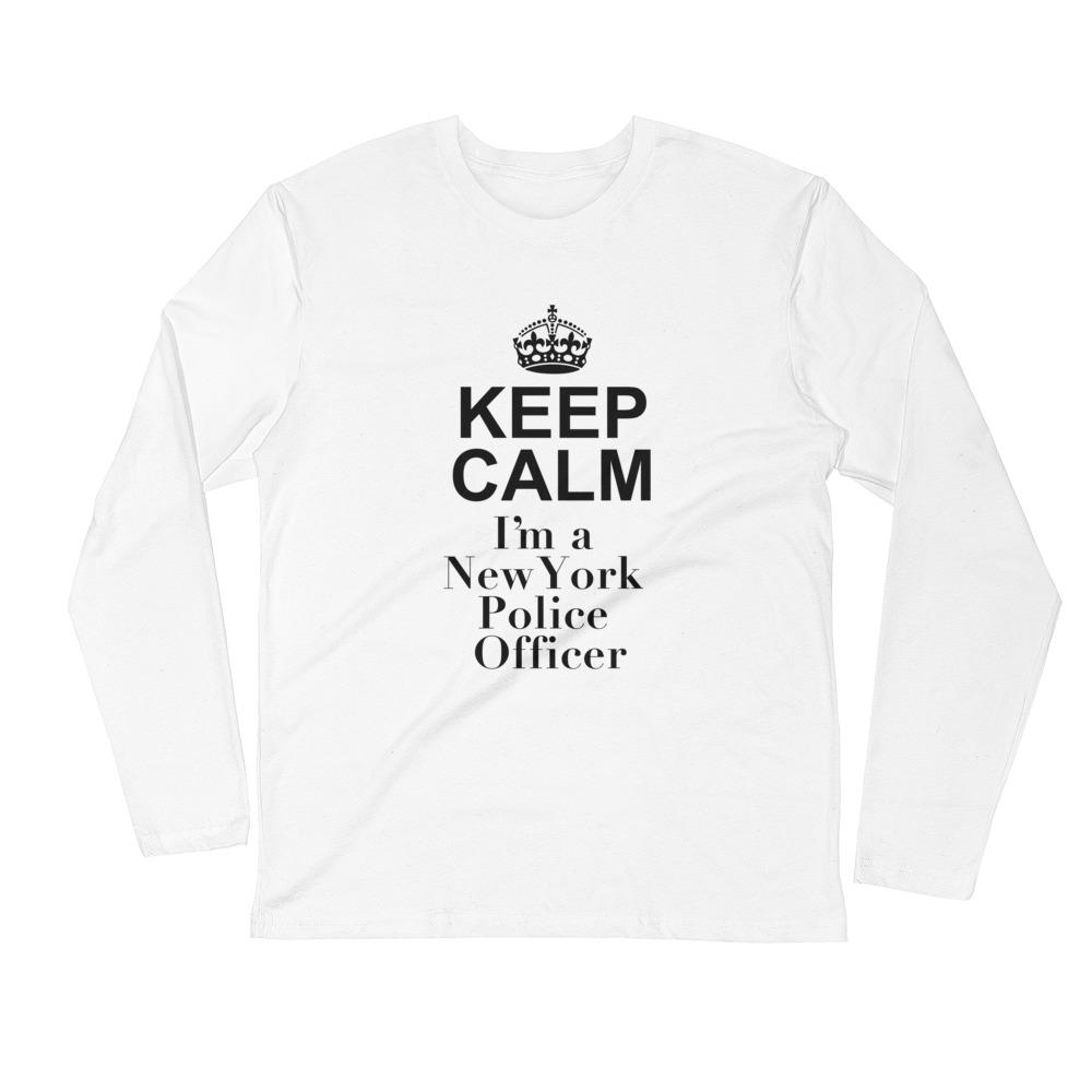 Keep Calm I'm A New York Police Officer - LifeSpirit | Sidi Life Products - T- Shirts - #collection_type#