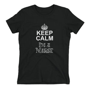 Keep Calm, I'm A Nurse - LifeSpirit | Sidi Life Products - T- Shirts - #collection_type#