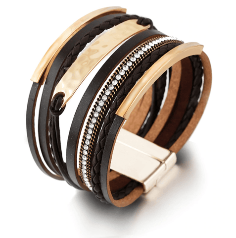 Multilayer Leather Wrap Bracelets & Bangles - LifeSpirit | Sidi Life Products - Accessories - #collection_type#