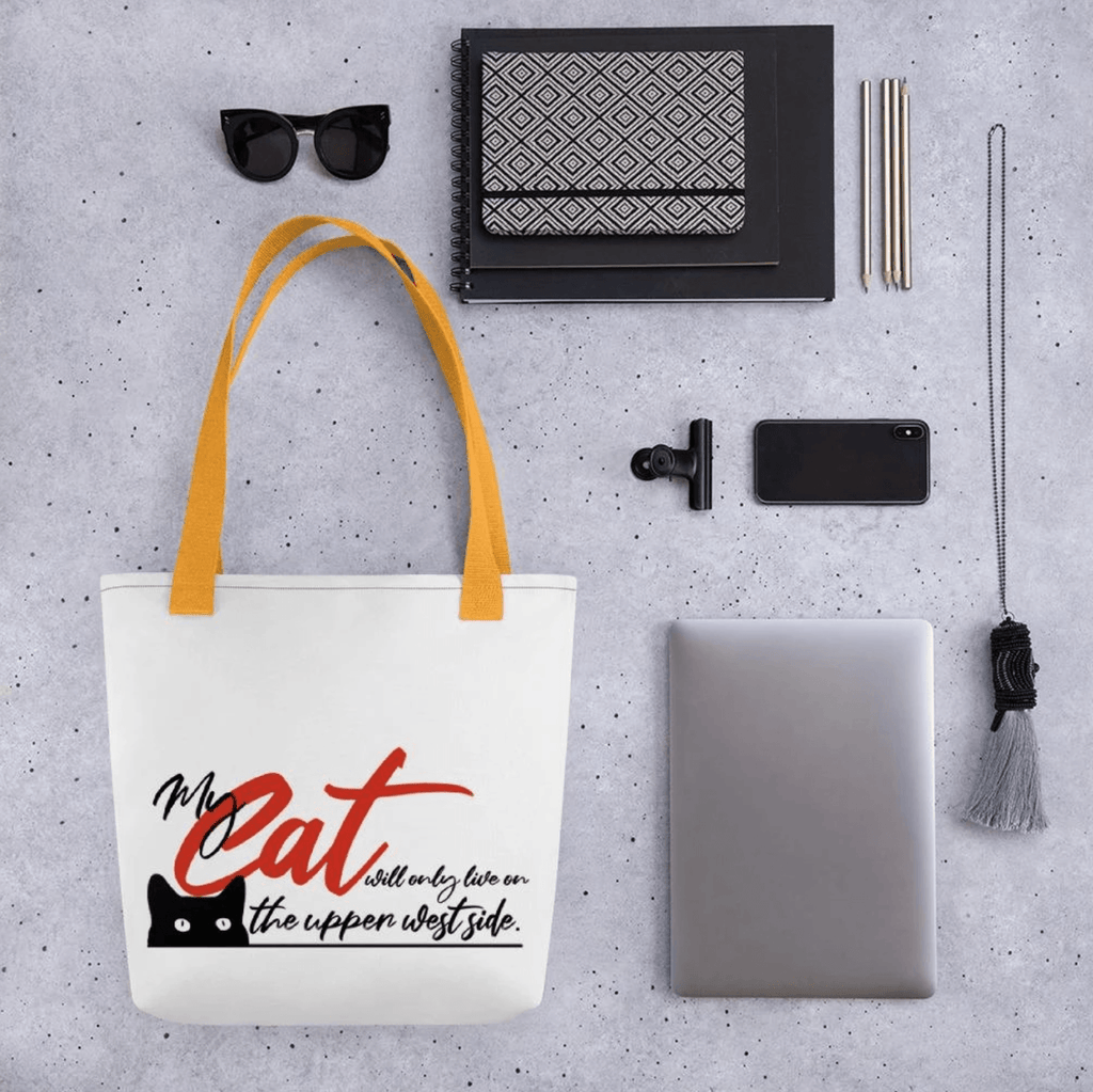 My Cat Will Only Live on the Upper West Side Tote - LifeSpirit | Sidi Life Products - Accessories - #collection_type#