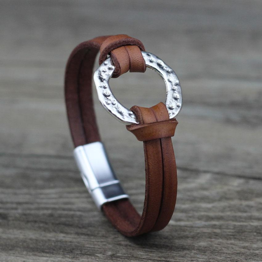 Omega Leather Bracelet - LifeSpirit | Sidi Life Products - Accessories - #collection_type#