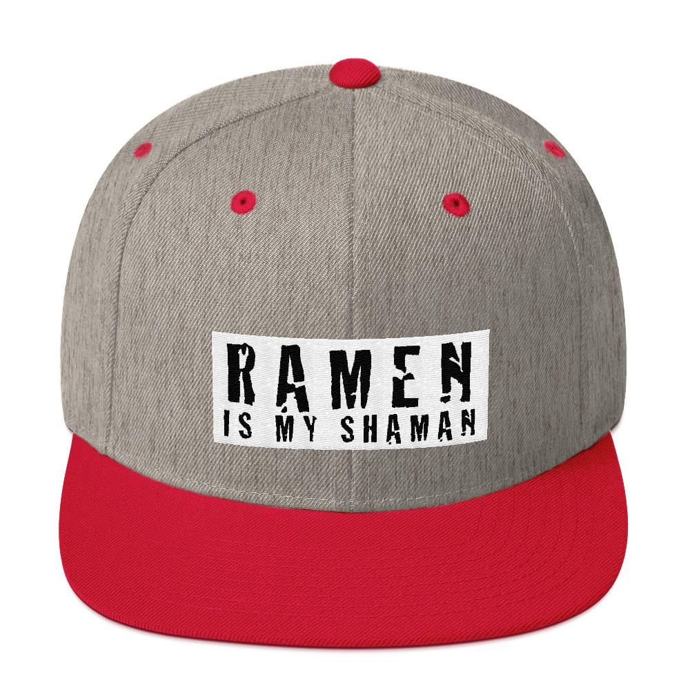 Ramen Is My Shaman Snapback - LifeSpirit | Sidi Life Products - Hats & Caps - #collection_type#