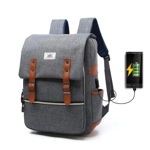 Retro Canvas Backpack Unisex