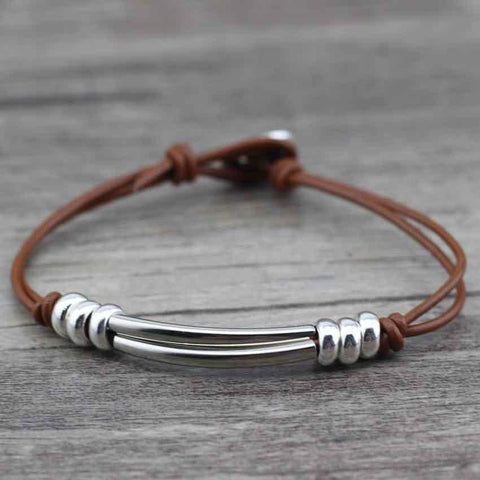 Image of Retro Leather Bracelet - LifeSpirit | Sidi Life Products - Accessories - #collection_type#