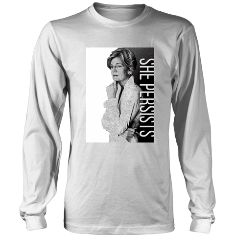 She Persist - Elizabeth Warren - LifeSpirit | Sidi Life Products - T-shirt - #collection_type#