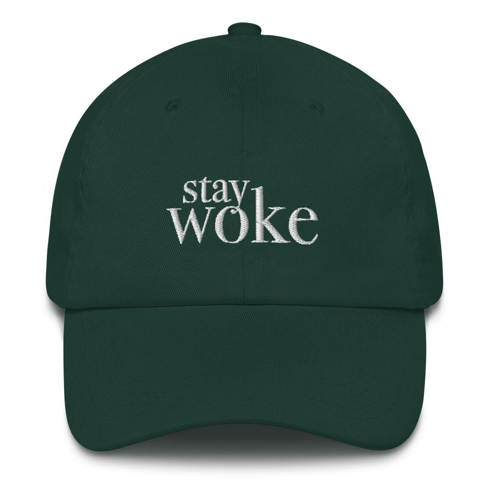 Stay Woke Classic Dad - LifeSpirit | Sidi Life Products - Hats & Caps - #collection_type#