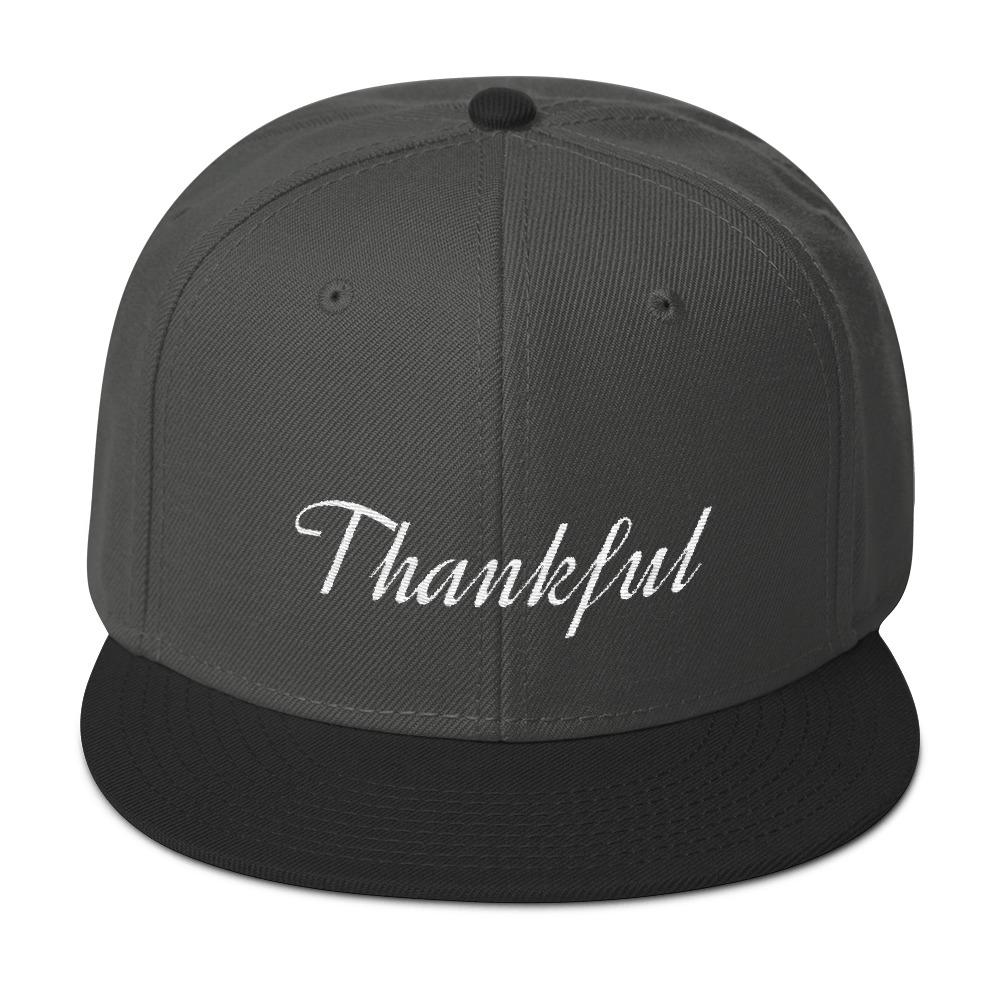 Thankful Snapback - LifeSpirit | Sidi Life Products - Hats & Caps - #collection_type#