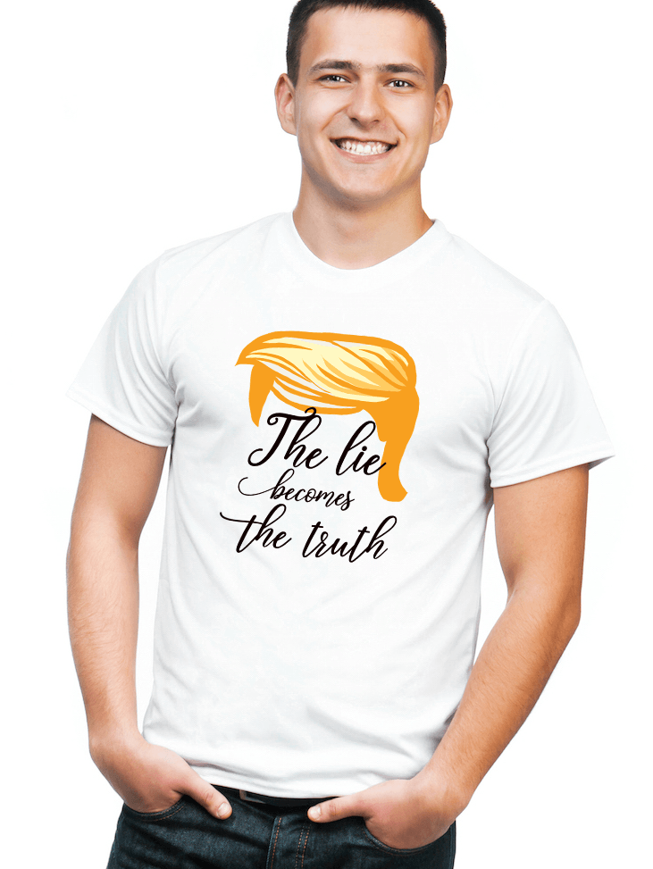 The Lie Becomes the Truth - LifeSpirit | Sidi Life Products - T- Shirts - #collection_type#