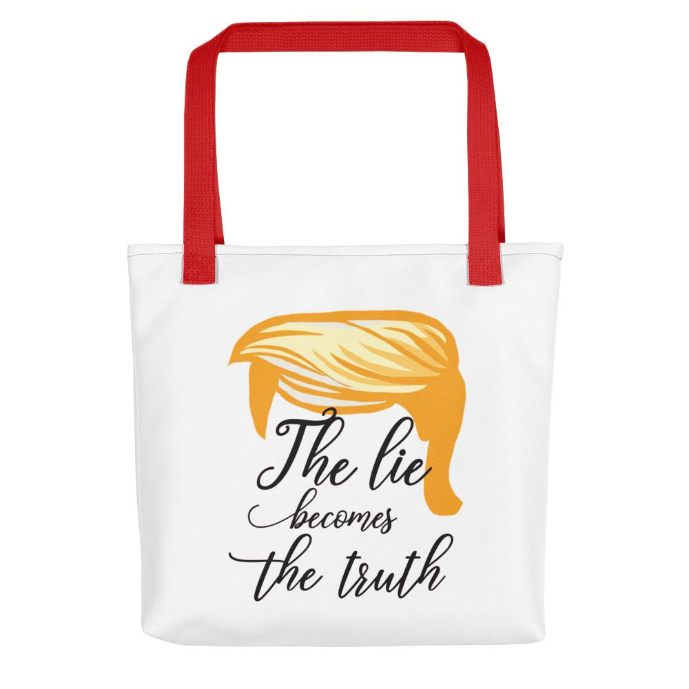The Lie Becomes The Truth Tote - LifeSpirit | Sidi Life Products - Accessories - #collection_type#