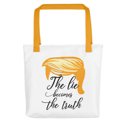 Image of The Lie Becomes The Truth Tote - LifeSpirit | Sidi Life Products - Accessories - #collection_type#