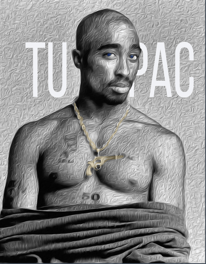 Tupac Unisex - LifeSpirit | Sidi Life Products - T- Shirts - #collection_type#
