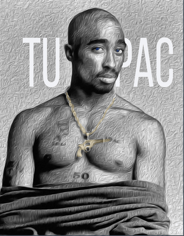 Image of Tupac Unisex - LifeSpirit | Sidi Life Products - T- Shirts - #collection_type#