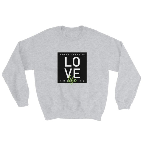 Image of Where There is Love There is Life - LifeSpirit | Sidi Life Products - Hoodies - #collection_type#
