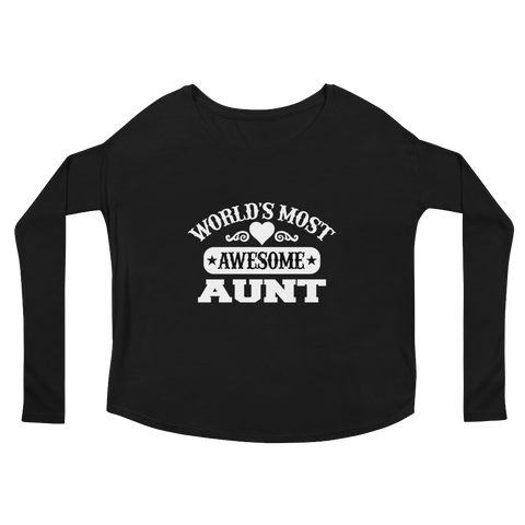 Image of World's Most Awesome Aunt - LifeSpirit | Sidi Life Products - T- Shirts - #collection_type#