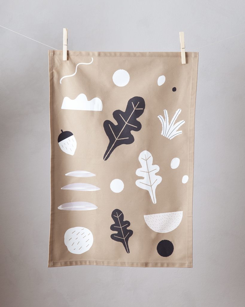 Foliage Tea Towel