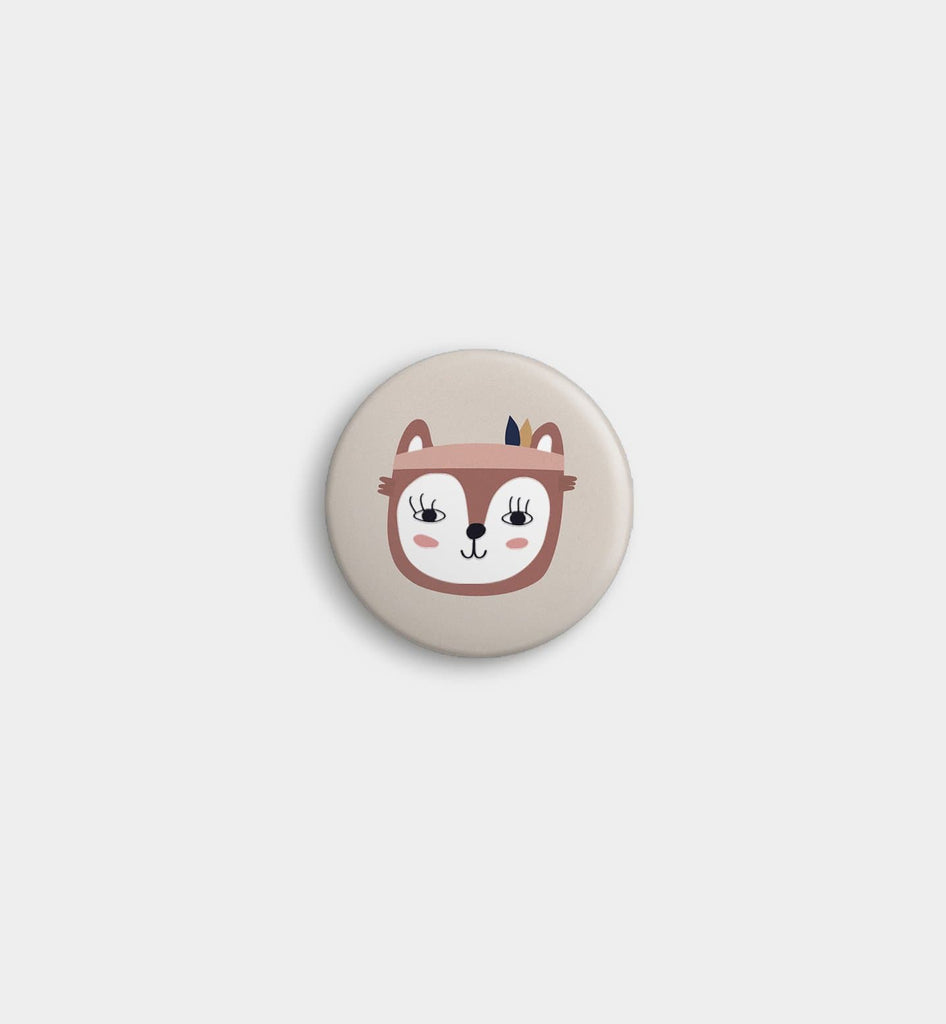 Dolor Foxy Pin Button