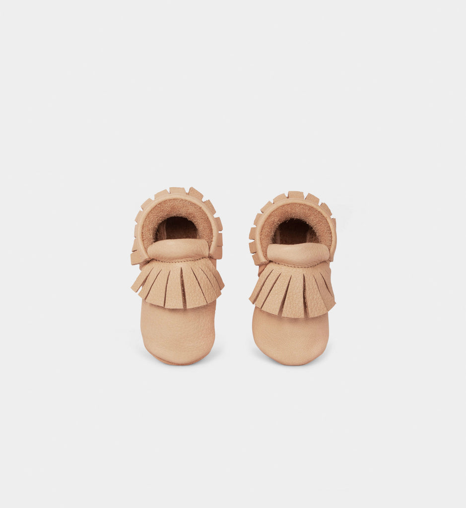 Baby Moccs by Mia & Mika - Beige (4587064524871)