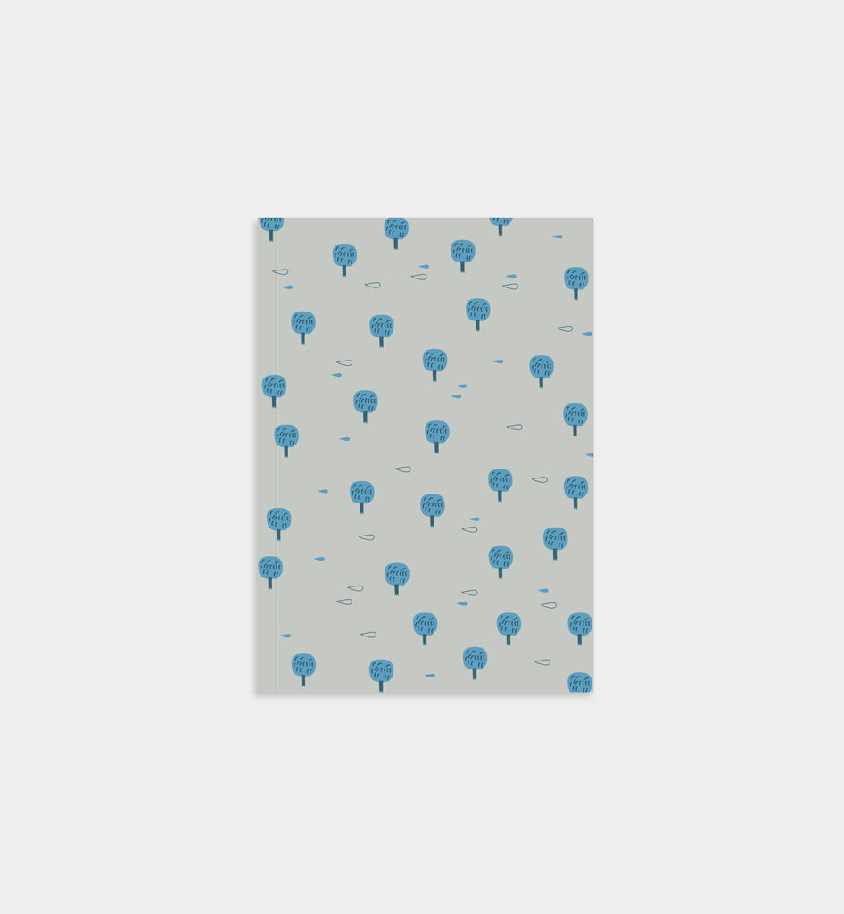 Blue Trees Notebook (1698745450538)