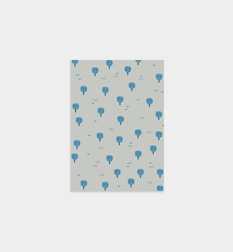 Blue Trees Notebook