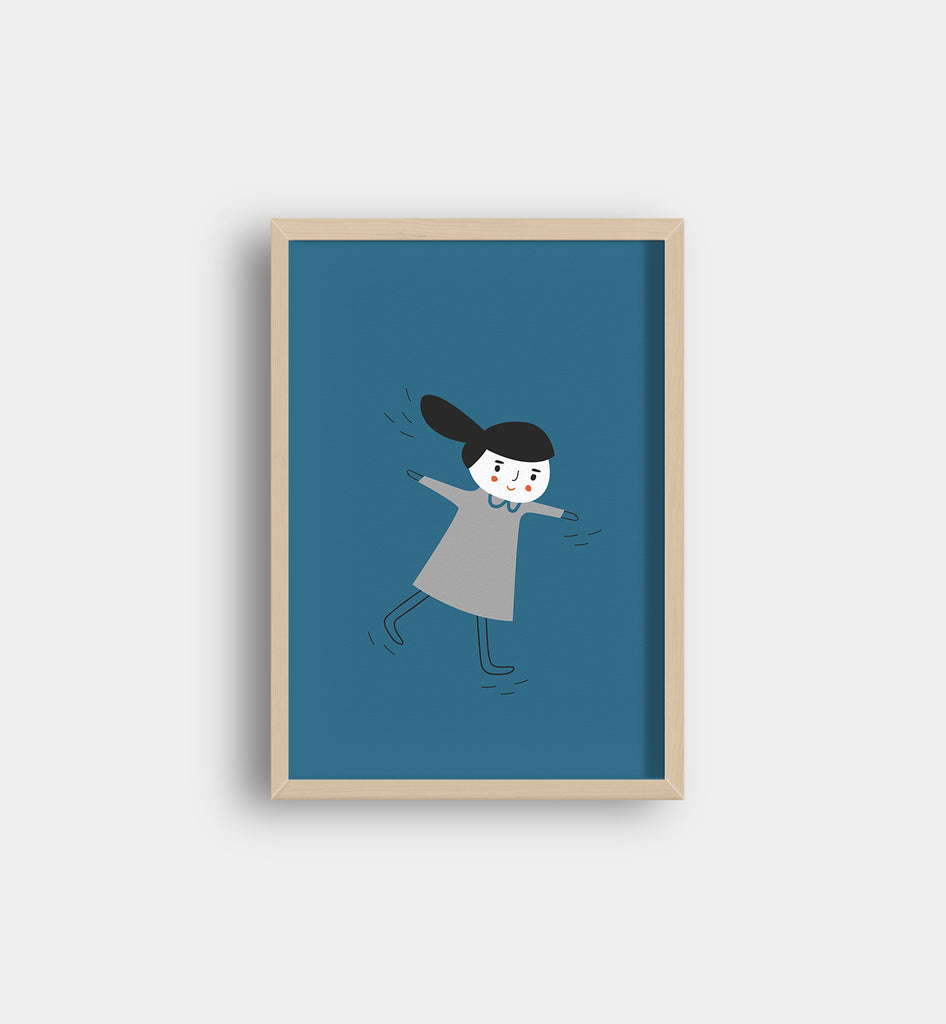 My Hair Got Longer Art Print