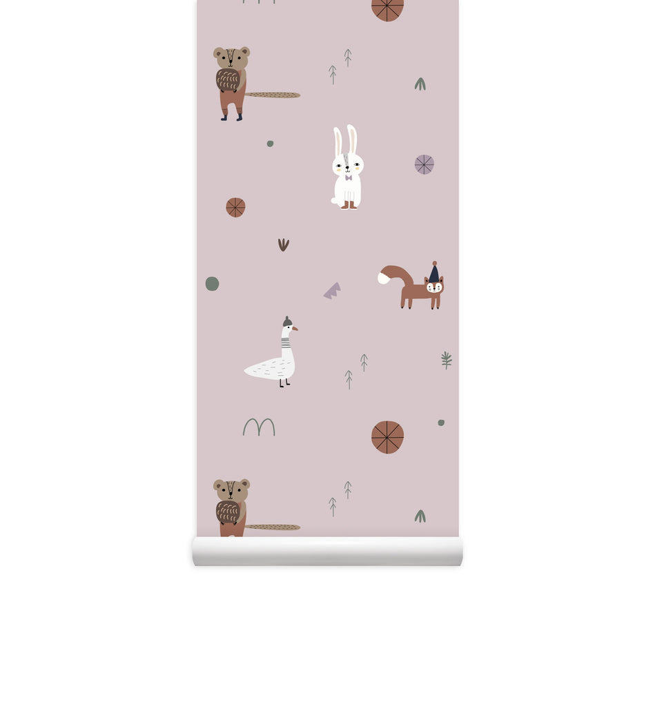 Forest Bunch Eco-friendly Wallpaper PVC-Free