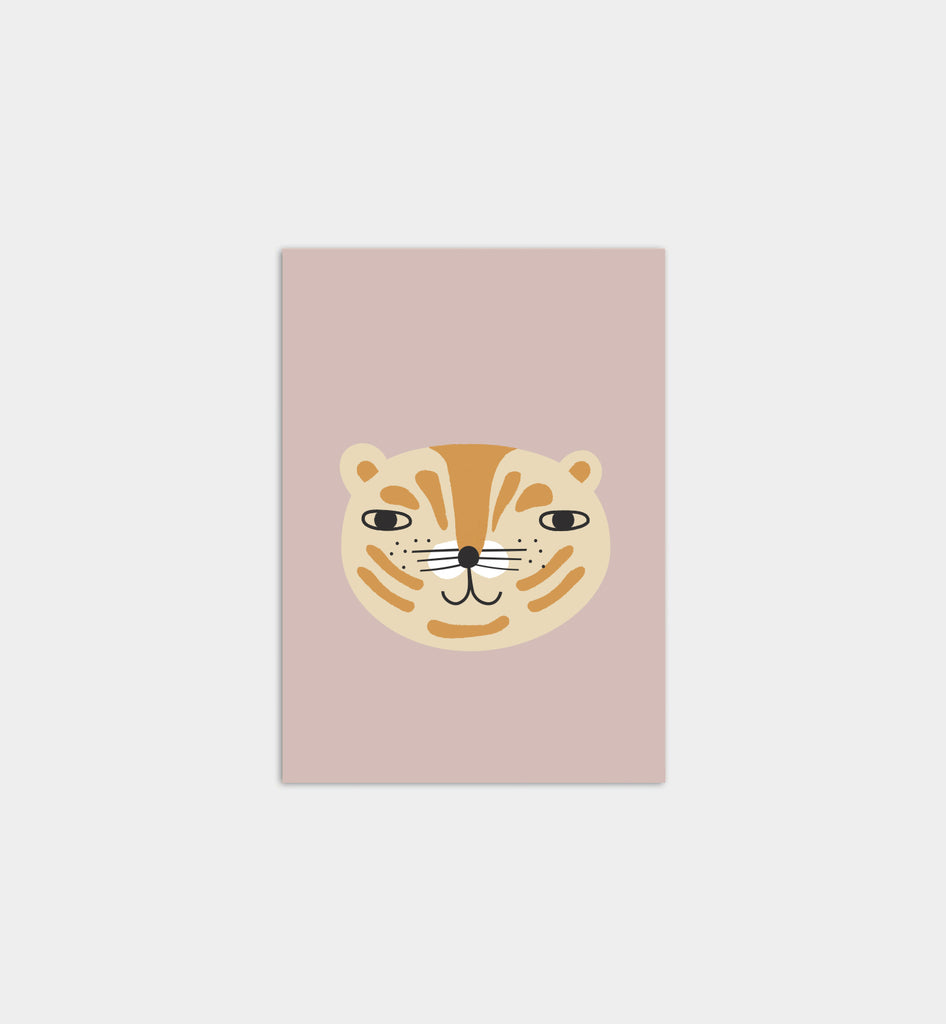 Hey, Tiger! Art Print