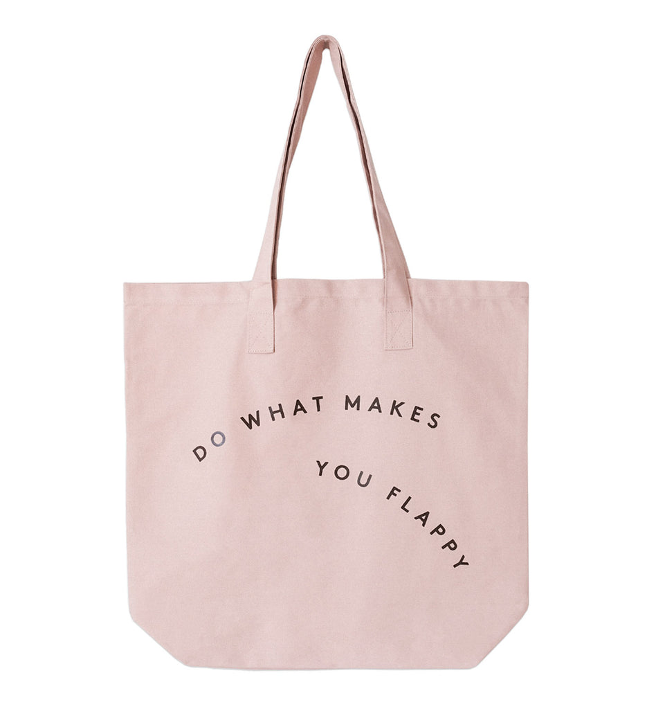 Canvas Tote Bag — Blush